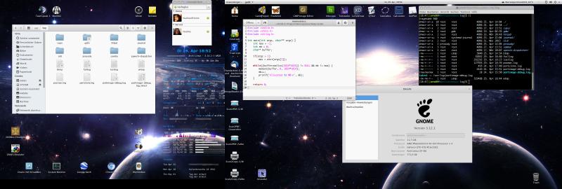 Screenshot Arch Linux