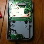 Gehäuse Unterseite mit Batteriekasten + Platine
