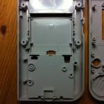 Gehäuse Unterseite mit Batteriekasten