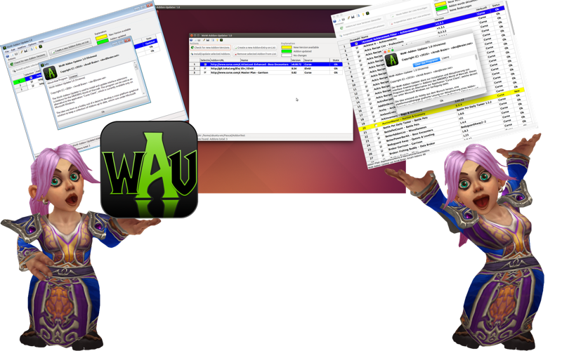 WoW-Addon-Updater-Logo