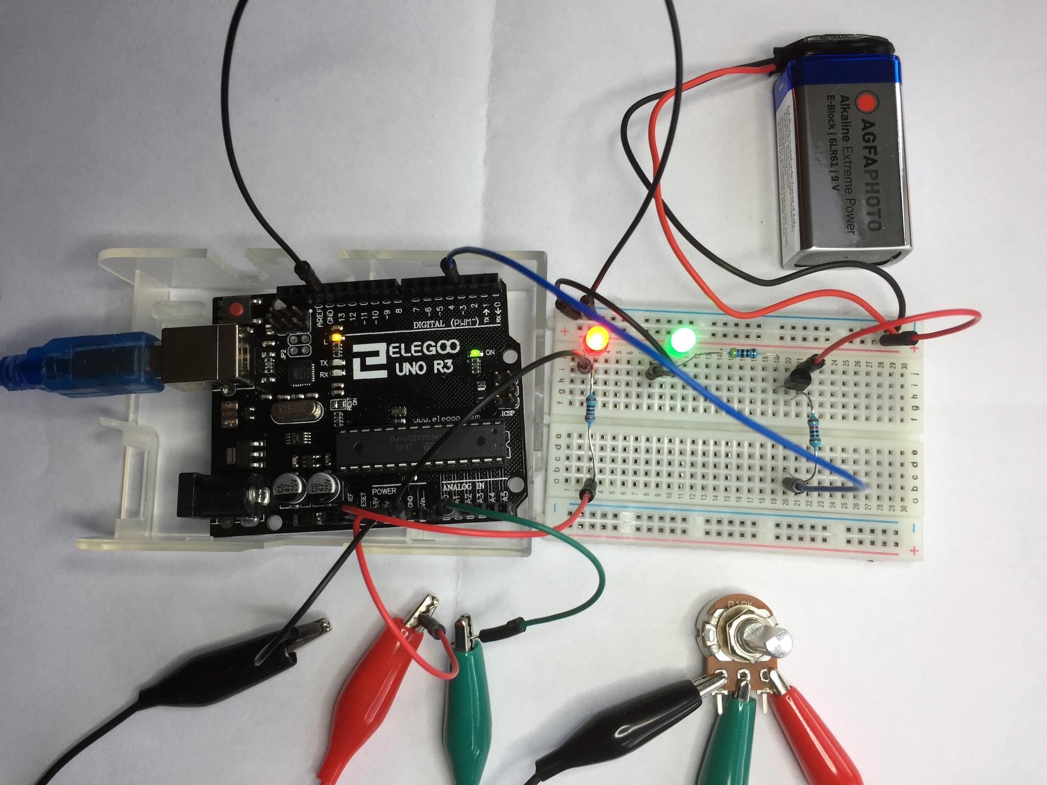 Projekt: Dimmer für LED-Lichterkette bauen | Arndt\'s Blog